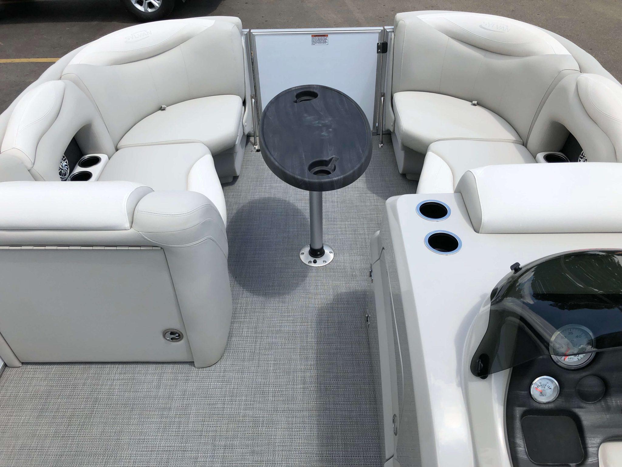 2016 Sylvan 8520 LZ LES Pontoon Boat Layout 6