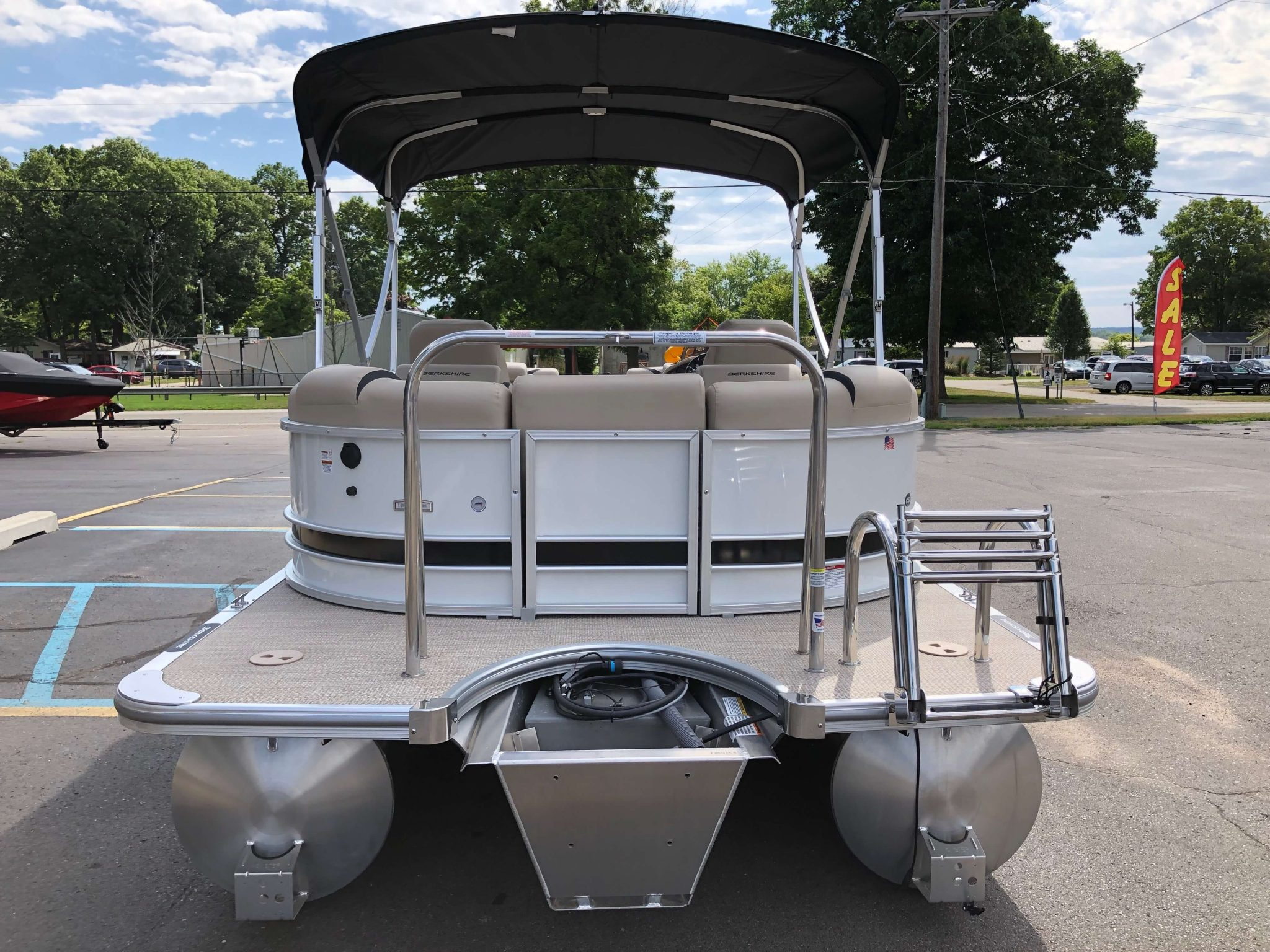 2019 Berkshire 23RFX STS Pontoon Boat 7