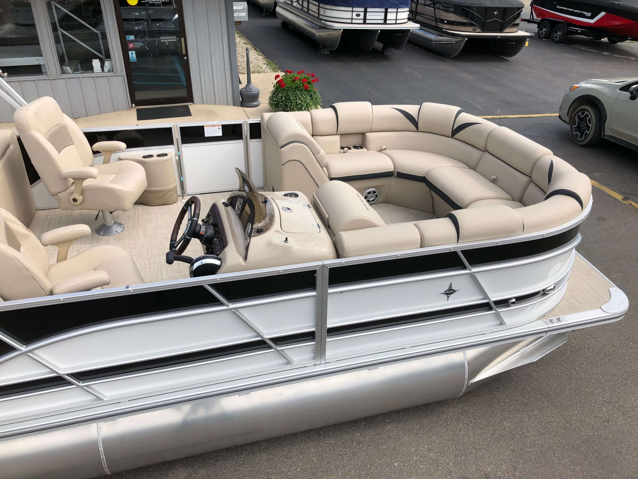 2019 Berkshire 23RFX STS Pontoon Boat 8