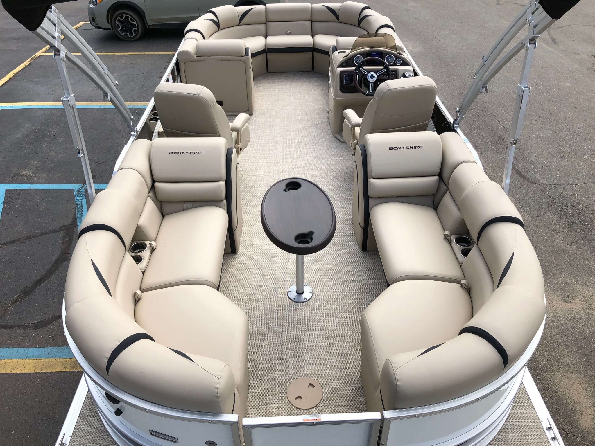 2019 Berkshire 23RFX STS Pontoon Boat Layout 2