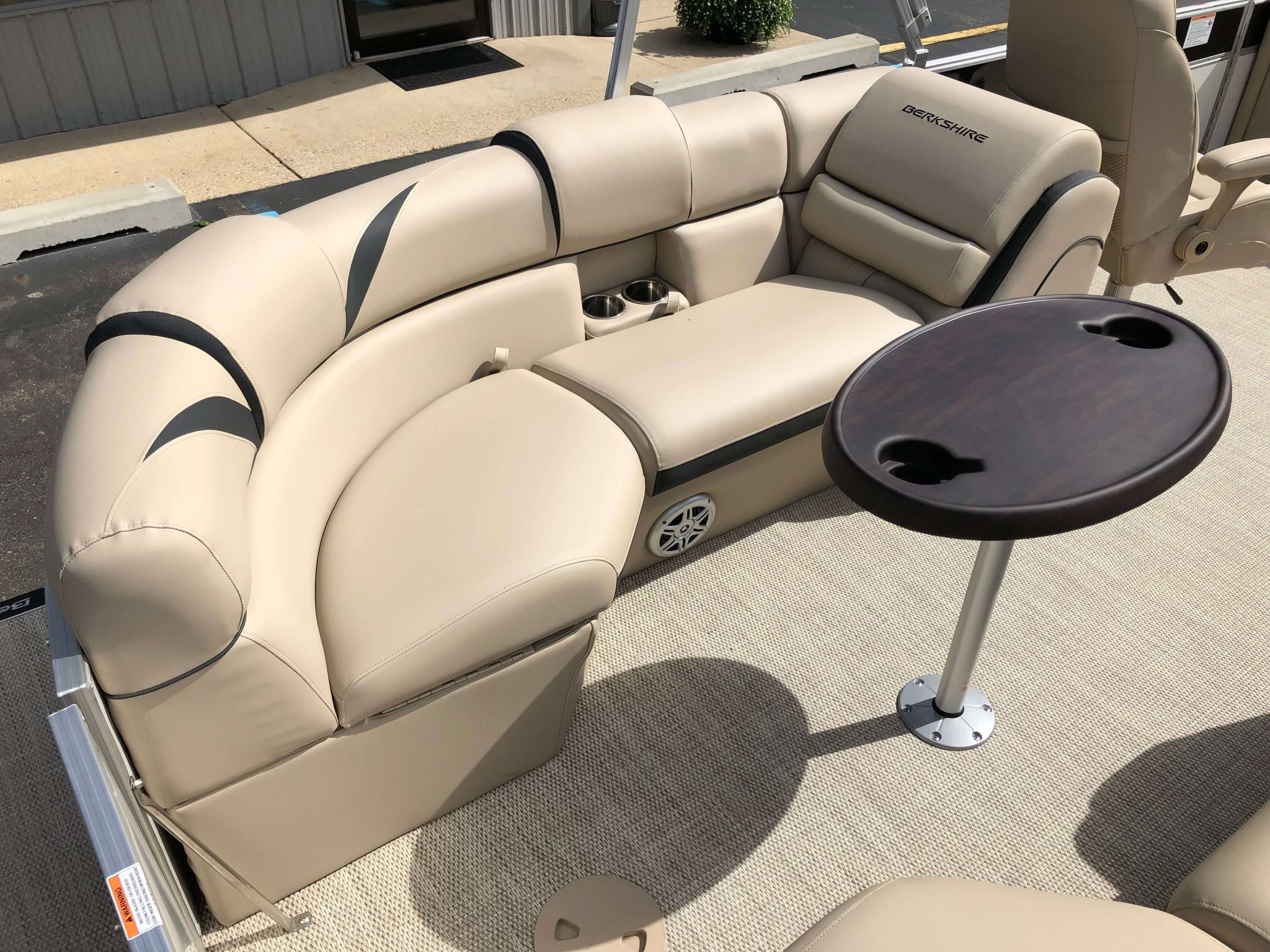 2019 Berkshire 23RFX STS Pontoon Boat Seating 2