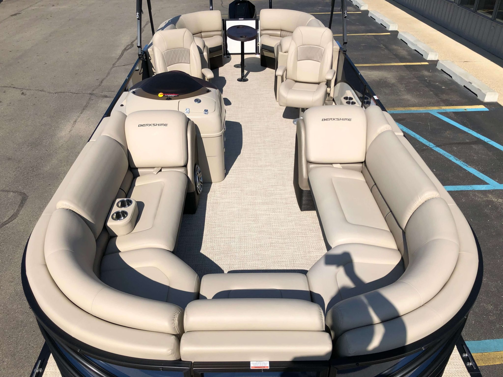 2019 Berkshire 25RFX STS Luxury Tritoon Layout 1