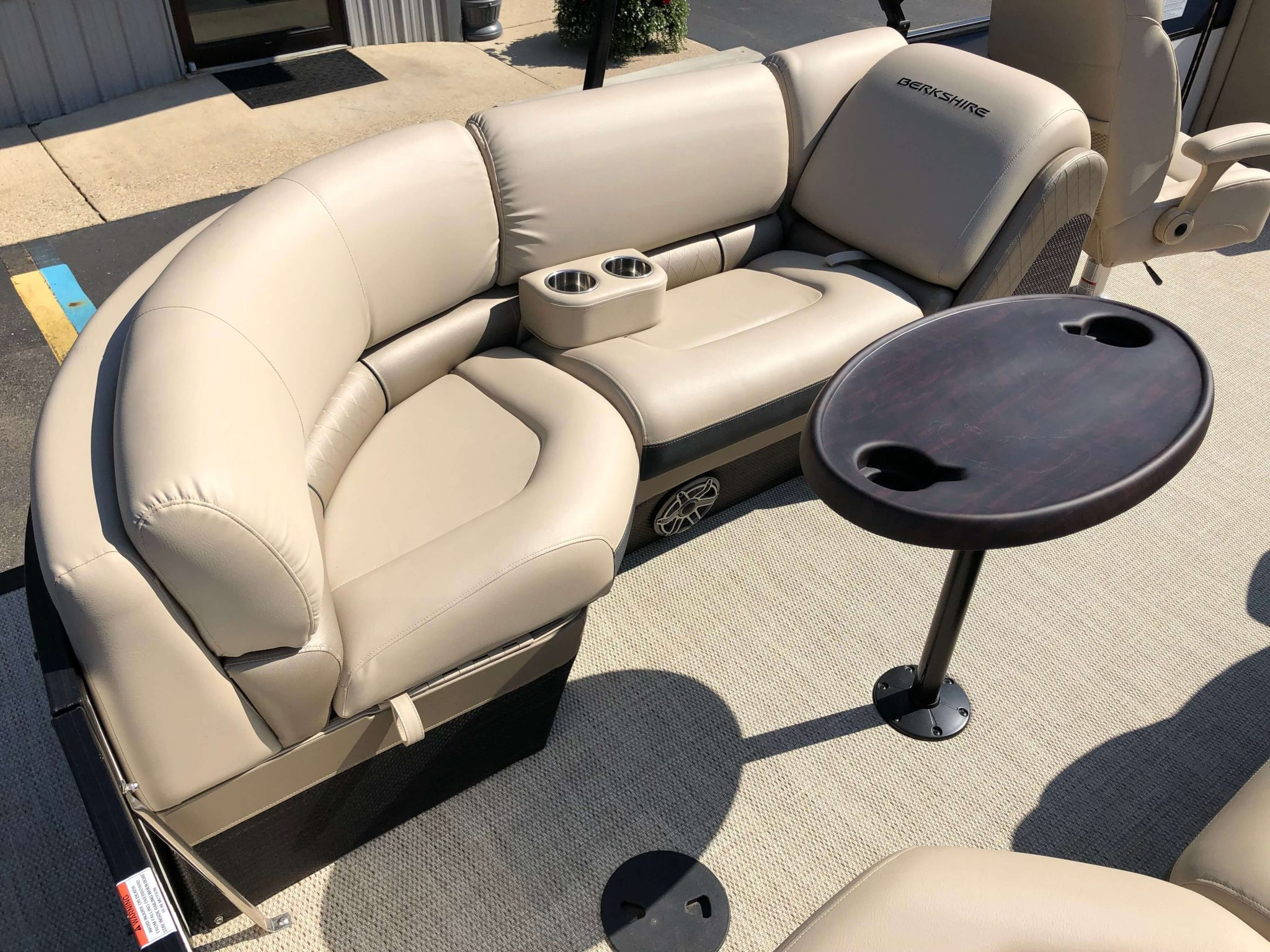 2019 Berkshire 25RFX STS Luxury Tritoon Seating 1