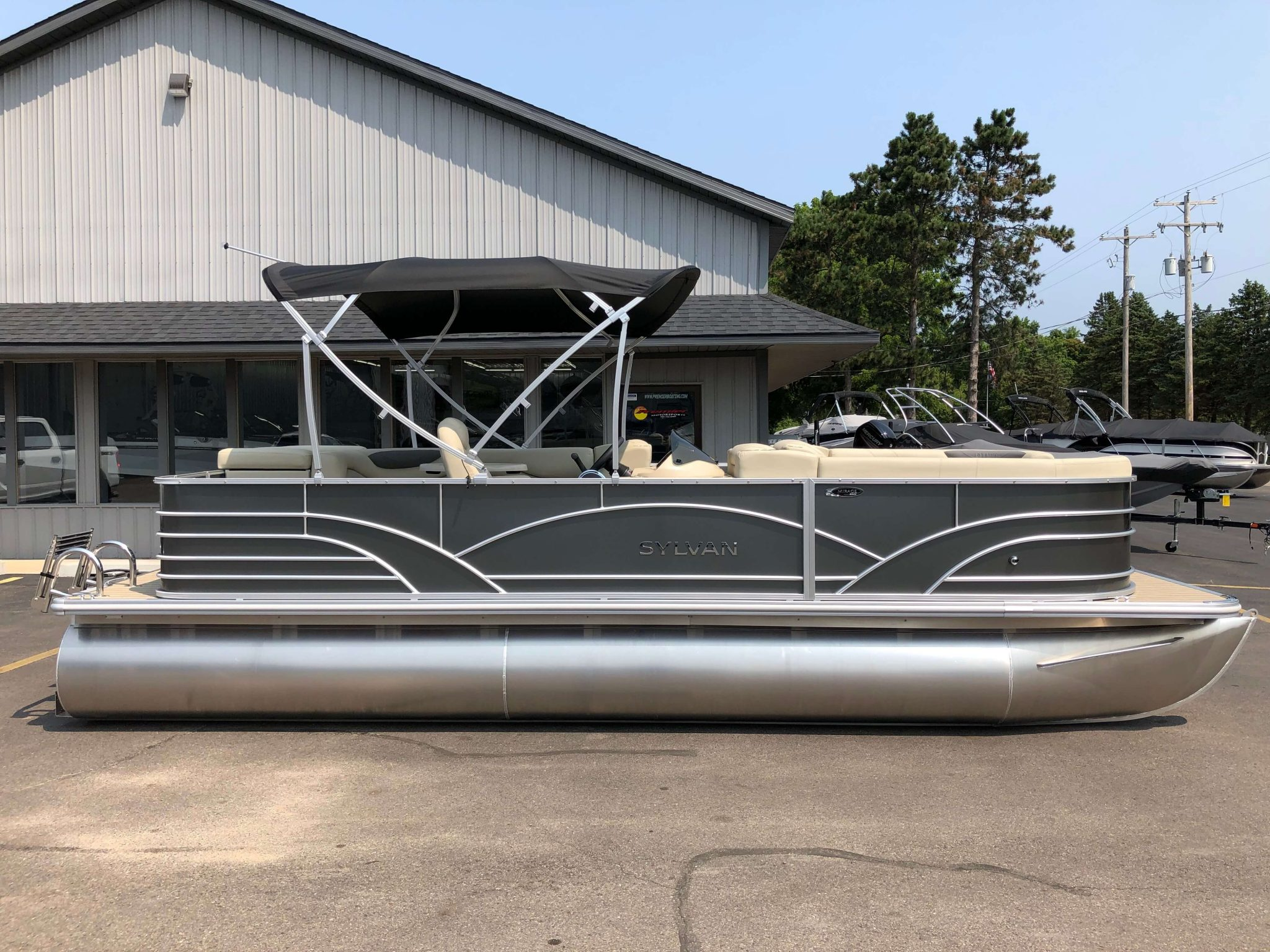 2019 Sylvan 8522 Cruise Carbon Pontoon Boat 7