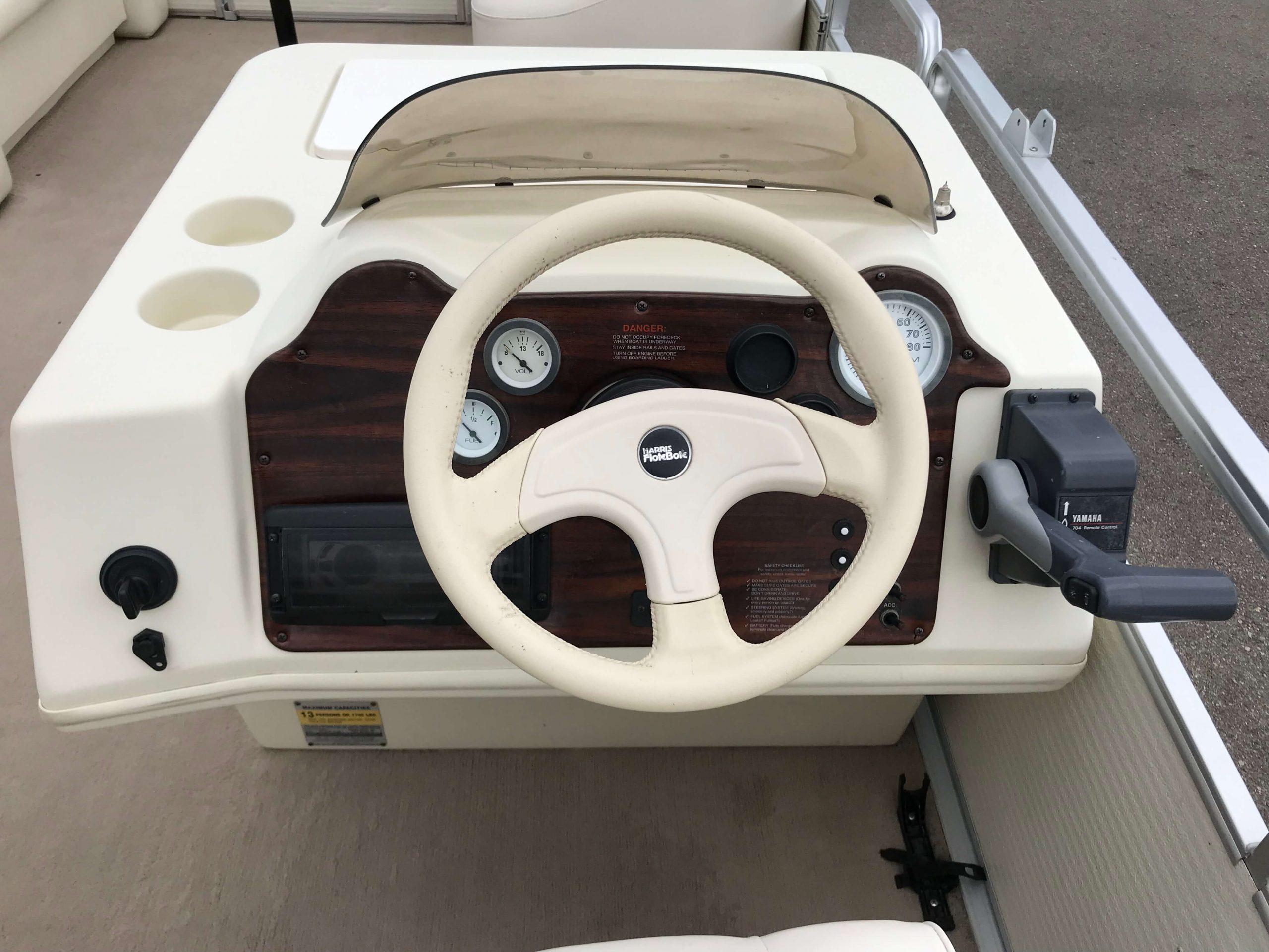 1998 Harris Kayot Skipper XL Pontoon Boat 10