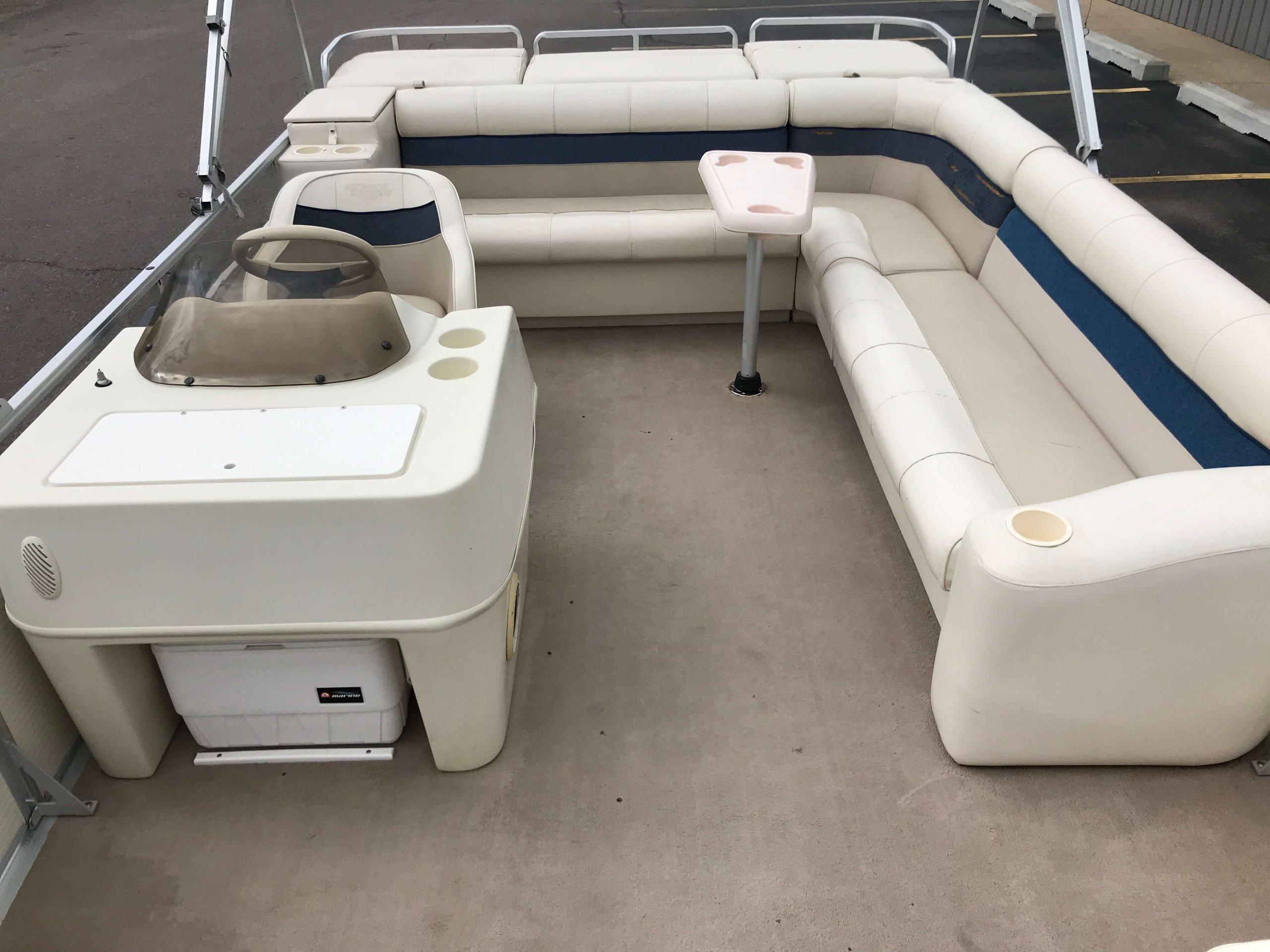 1998 Harris Kayot Skipper XL Pontoon Boat 11