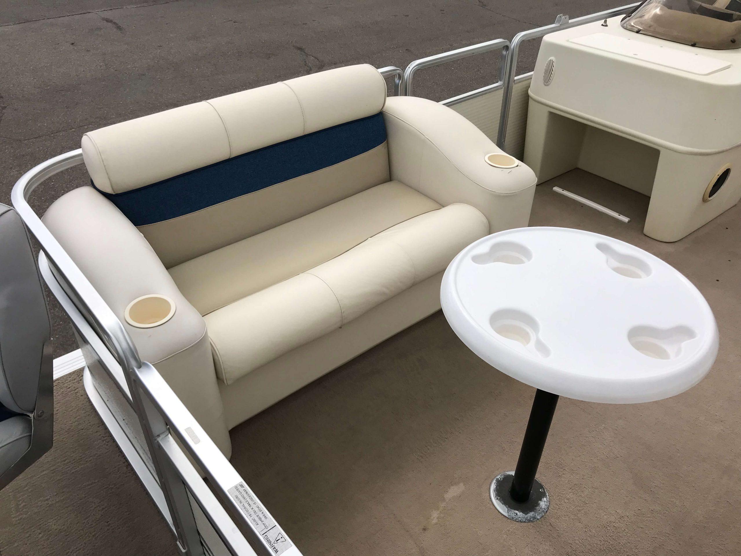 1998 Harris Kayot Skipper XL Pontoon Boat 5