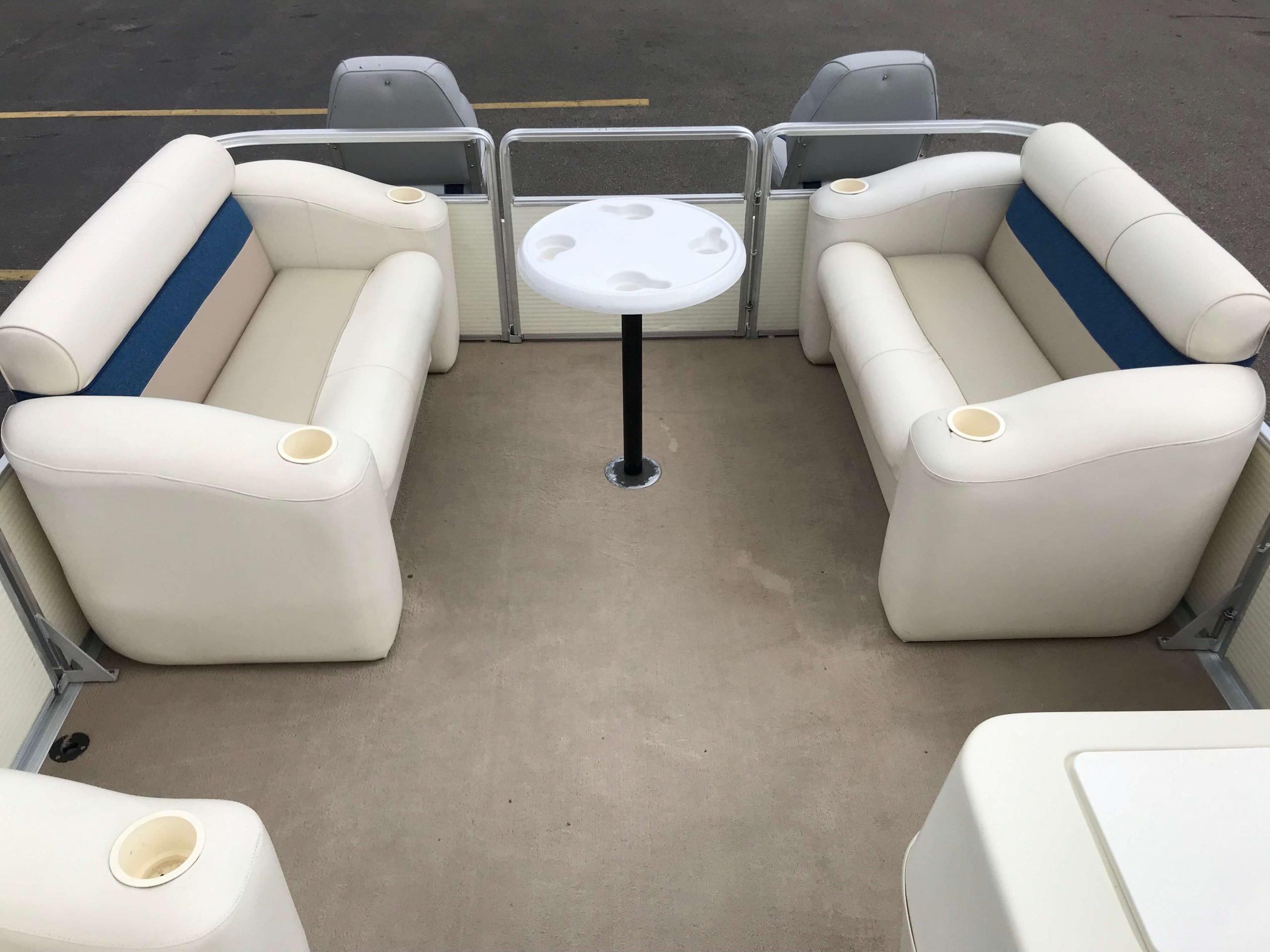 1998 Harris Kayot Skipper XL Pontoon Boat 7