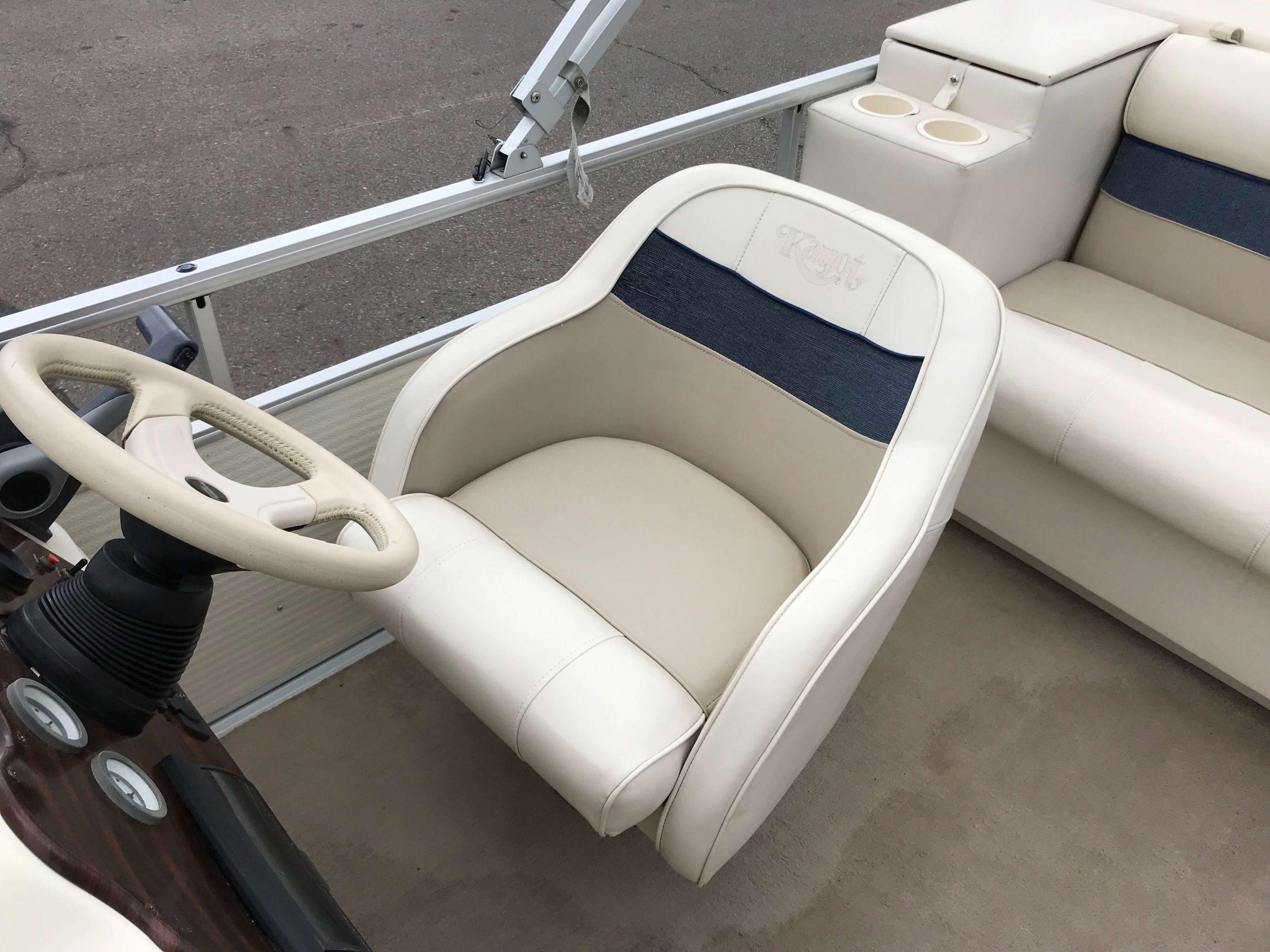 1998 Harris Kayot Skipper XL Pontoon Boat 8