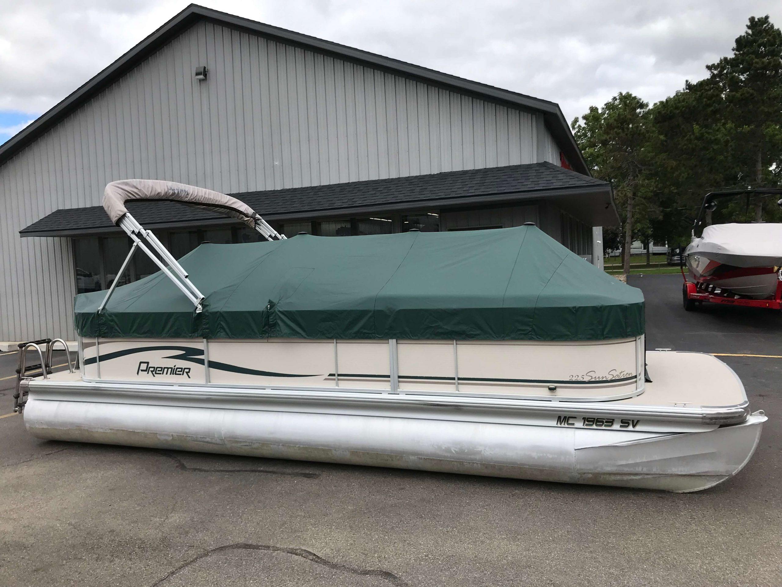 2005 Premier 225 Sunsation RE Pontoon Boat 1