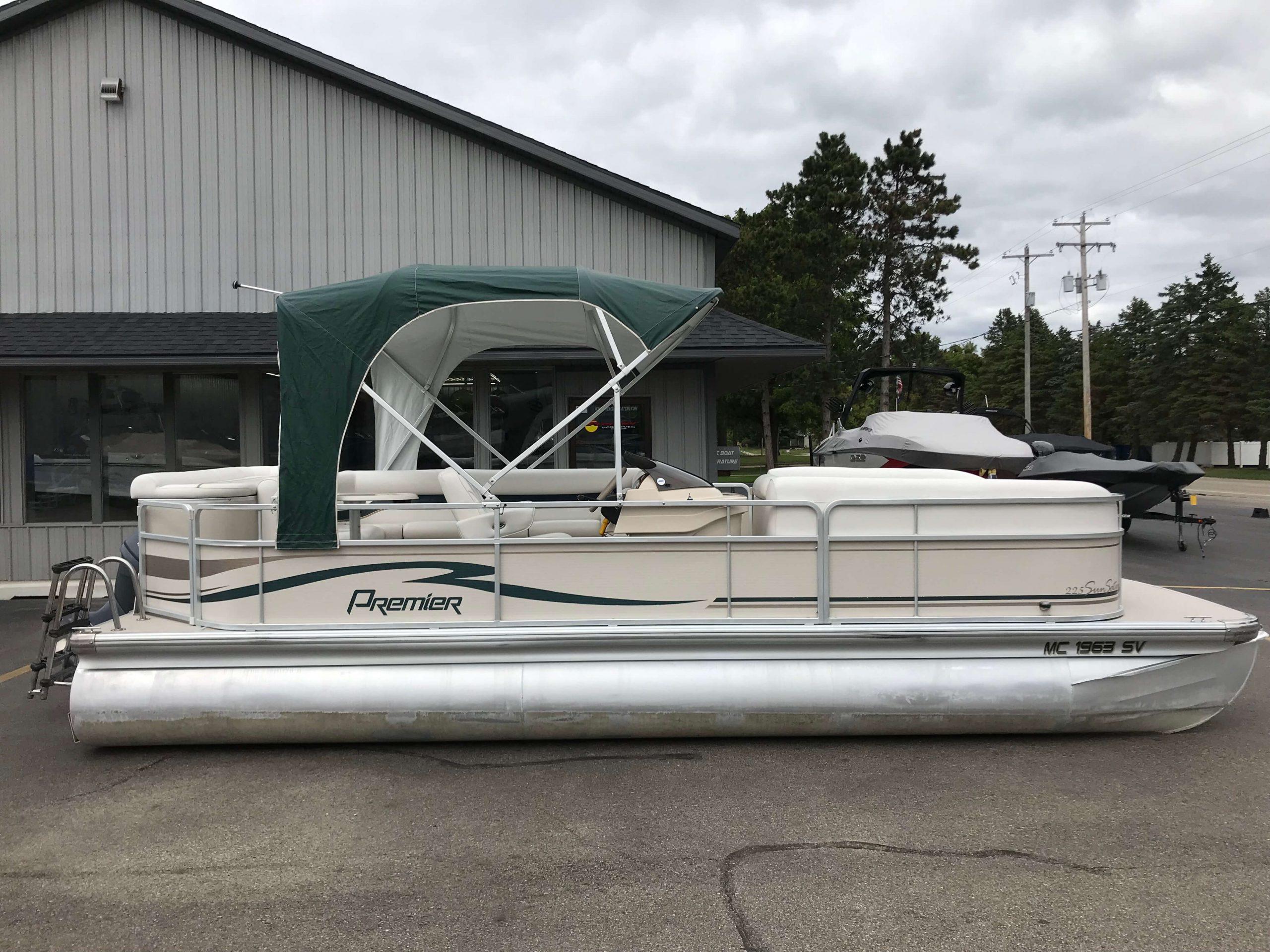 2005 Premier 225 Sunsation RE Pontoon Boat 14