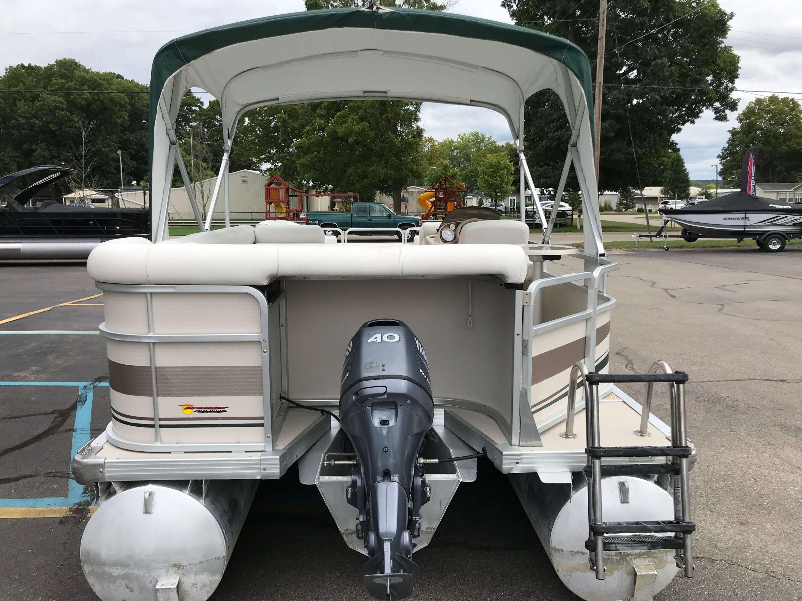 2005 Premier 225 Sunsation RE Pontoon Boat 15