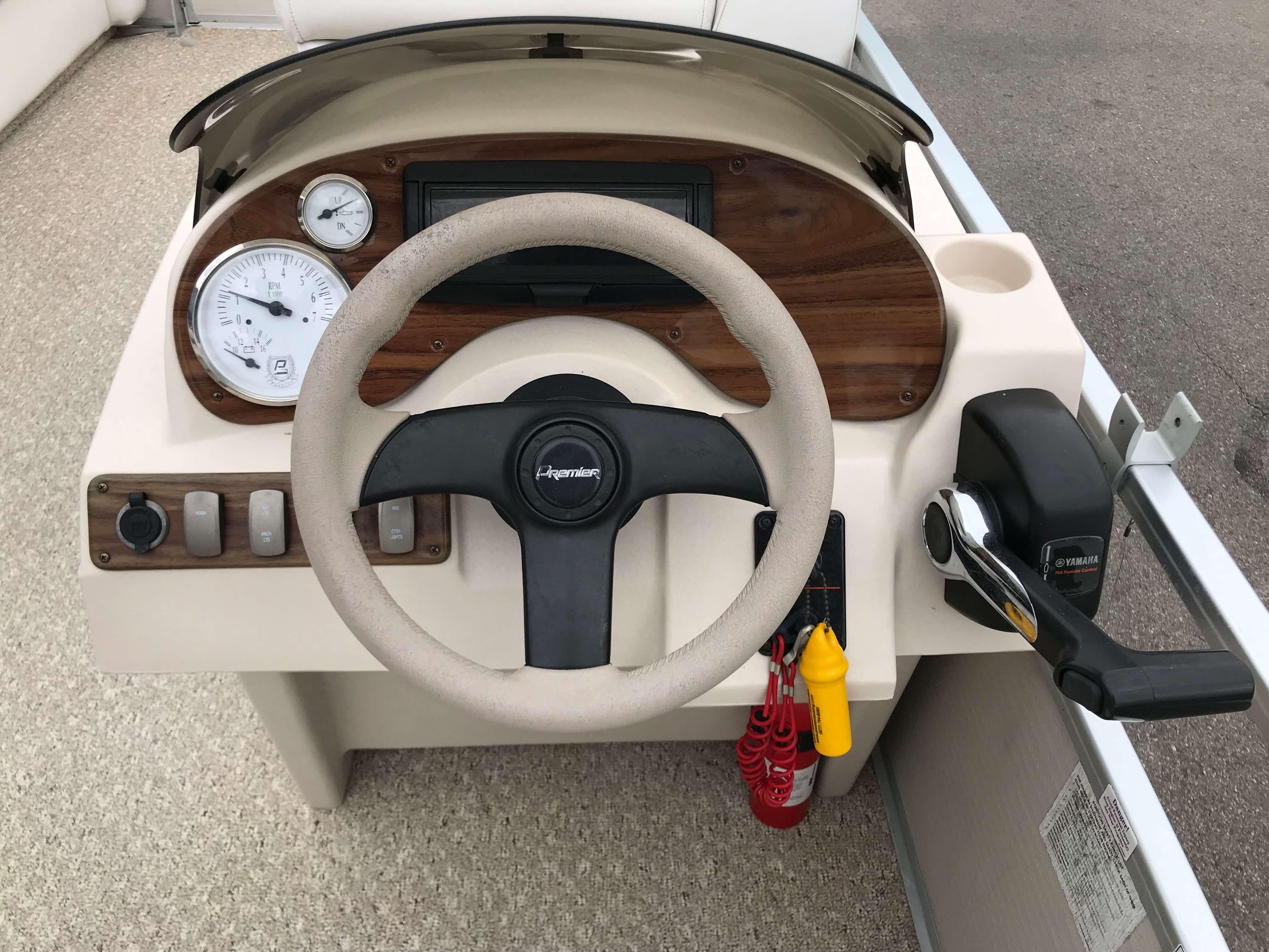 2005 Premier 225 Sunsation RE Pontoon Boat 9